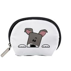 Peeping+Miniature+Schnauzer+Accessory+Pouches+(Small)++Accessory+Pouch+(Small)