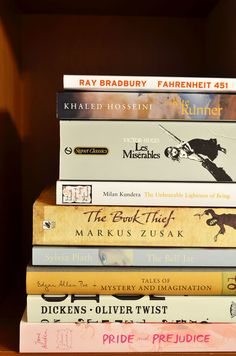 """bookdaily: """" book collection 7 by bookdaily """" I Love Books, Good Books, Books To Read, My Books, Reading Books, Book Club Books, Book Nerd, Book Lists, Book Suggestions"""