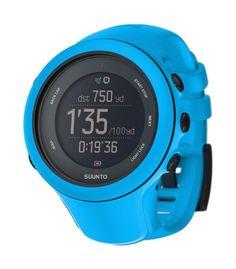 El nuevo reloj - pulsómetro Suunto Ambit3 Sport destaca por la cinta pulsómetro con GPS incorporado. http://www.shedmarks.es/pulsometros-suunto/2172-suunto-ambit3-sport-blue.html