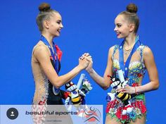 Dina & Arina Averina Campionati del mondo Pesaro 2017