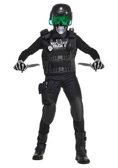 Kids Zombie Navy Seal Costume