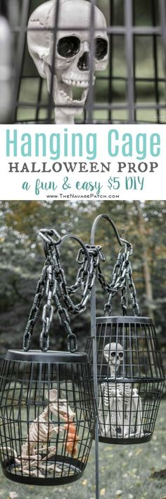 14 best Halloween images on Pinterest in 2018 - do it yourself outdoor halloween decorations