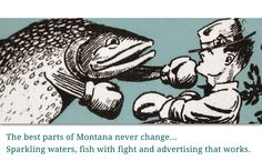 Montana's Fighting Fish, a Montana goodie from the Wendt vault