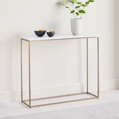 Shop console table from west elm. Find a wide selection of furniture and decor options that will suit your tastes, including a variety of console table. 60s Furniture, Small Furniture, Living Furniture, Entryway Furniture, Glass Side Tables, Foyer Decorating, Room Planning, Bedding Shop, Small Living Rooms