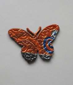 Upcycled Aluminum Can Butterflies - garden fence? Flowers, too?