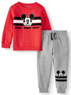 Mickey Mouse Toddler Boys Long Sleeve Graphic T-shirt & Drawstring Fleece Jogger Pant, Outfit Sets Toddler Boy Fashion, Toddler Boys, Kids Fashion, Boys Summer Outfits, Baby Boy Outfits, Couple Halloween Costumes For Adults, Couple Costumes, Disney Costumes, Adult Costumes