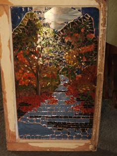 Autumn Mosaic Window