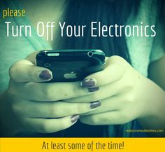 Turn off all communication devices at a set time each night. This includes your cell phone, computer, pager, and fax. Better yet, try to reduce your daily use of these communication tools.