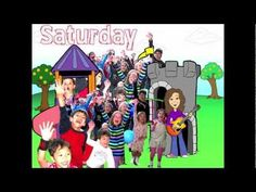 Days of the Week Song. Saturday's My Favorite Day for all kids and children. Learn easy nursery rhymes from Patty Shukla. Circle Time Songs, Circle Time Activities, Group Activities, Calendar Songs, Calendar Time, Learn Singing, Singing Tips, Preschool Calendar, Finger Plays