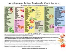 Paleo Autoimmune Anti Inflammatory Diets Menus Food