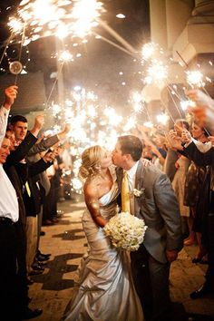4 Sparkler Photo Ideas & Tips ❤ See more: http://www.weddingforward.com/sparkler-photo-ideas-tips/ #weddings #photography