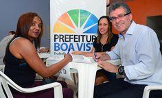 Prefeitura de Boa Vista entrega barracas a comerciantes da Feira do Garimpeiro #pmbv #prefeituraboavista #boavista #roraima