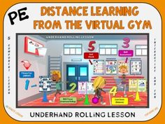 PRETEND YOU ARE IN A REAL PE CLASS WHILE YOU ARE AT HOMEThe PE Distance Learning from the Virtual Gym- Underhand Rolling Lesson is a 5 Component, digital PE lesson that was designed for students to use in their home setting. Physical education or classroom teachers can easily send home the PDF virtu... Pe Lessons, Pe Class, Pe Ideas, Pe Games, Trivia Quiz, Physical Education Games, Google Classroom, Task Cards, Fun Workouts