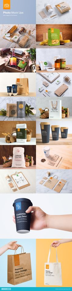 Coffee Branding & Packages Mock Up by Mockup Zone #design Download: https://creativemarket.com/mucahitgayiran/342706-Coffee-Branding-Packages-Mock-Up?u=ksioks
