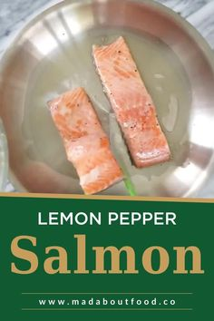 There are tons of reasons why I try to eat salmon at least once a week for lunch, but the top reason has to be because it tastes so good! Lately I like it a bit softer and have found this lemon pepper salmon recipe to be perfect. I especially love lemon pepper salmon on a big salad for lunch. When I share my salmon in a lunchbox on instagram I inevitably get the question, do you eat it cold?! The answer is yes, I do.tender, flakey and flavorful filet of Whole30 salmon in less than 20…