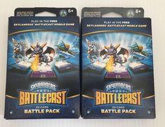 2 Identical Skylanders Battlecast 22 Cards Battle Pack~Spyro SnapShot Stormblade   eBay