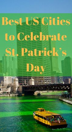The best US cities to celebrate St. Patrick's Day. Stuck in the USA on St. Patrick's Day and unable to visit the iconic places above? Well do not worry, we have not only put together a list of the top places to Celebrate St. Patrick's Day but we have also