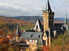 Wernigerode Castle in the Harz Region - 5 hours from Geleen.