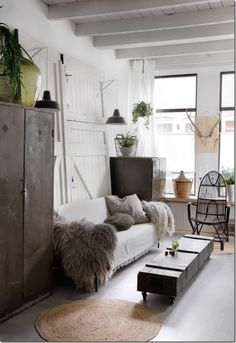 interior design, industrial style, french style, scandinavian style, nordic style / Stile Scandinavo, Stile Industriale chic in Olanda