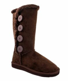 Women's Fur Mid-calf 4 Buttons Faux Soft Snow Winter Flat Boot Shoes NEW *** Learn more by visiting the image link.