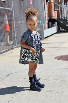 """Kids fashion what a beautiful little girl with """"L'officiel Enfant"""" who is one of the leading children's brand showrooms in New York."""