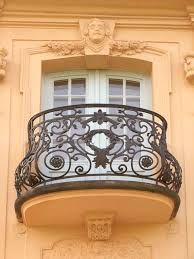 WROUGHT IRON BALCONIES - Google Search