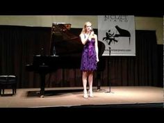 Lexi Carter performs at Kretzer Piano's 2013 Music for the Mind concert featuring the Kretzer Kids.