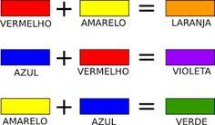 as cores - misturas
