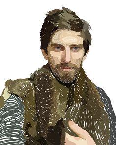 Hirsute in furs