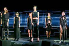 Jeffrey Campbell presenta sus diseños en el Mercedes-Benz Fashion Week México.
