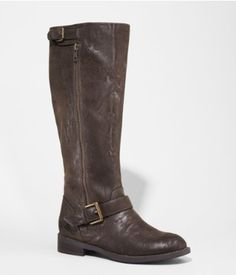 DISTRESSED RIDING BOOT | Express