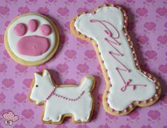 Galletas Decoradas para una Amante de los Perros - Paperblog