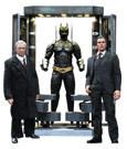 Hot toys 1/6 scale action figure: BATMAN ARMORY WITH BRUCE WAYNE & ALFRED