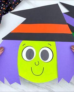 Halloween Arts And Crafts, Theme Halloween, Diy Halloween Decorations, Halloween Diy, Halloween Office, Halloween Crafts For Toddlers, Winter Crafts For Kids, Halloween Activities, Preschool Winter