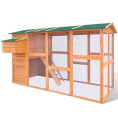 Grande Cage à Poules ou  eBay 340eurosPoulailler en Bois Cage à Poules Extérieur