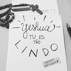 Tu és tão lindo! King Jesus, Jesus Is Lord, Jesus Faith, Jesus Christ, Jesus Wallpaper, Tumblr Love, Lettering Tutorial, Jesus Loves You, Jesus Freak