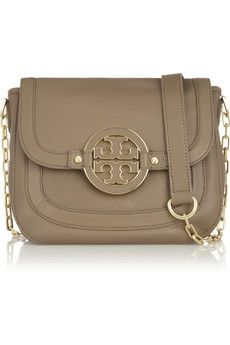 THEN AND NOW | Tory Burch | Amanda leather shoulder bag