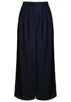 K.O.I KINGS OF INDIGO ELSA Stoffhose blueblack Bekleidung bei Zalando.de | Material Oberstoff: 100% Lyocell | Bekleidung jetzt versandkostenfrei bei Zalando.de bestellen!