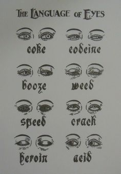 The language of Eyes
