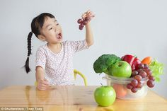 9 in 10 older children miss their five-a-day fruit and veg target