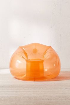 Shop Trixie Inflatable Chair at Urban Outfitters today. Inflatable Furniture, Inflatable Chair, Bean Bag Chair 90s, Cool Furniture, Furniture Design, Glass Furniture, Chair Design, Air Chair, Home Decor Sale