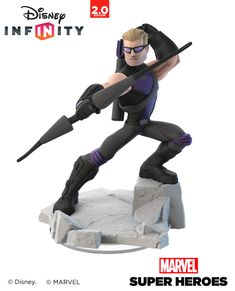 ArtStation - Hawkeye - Disney Infinity 2.0 - Toy Sculpt, Ian Jacobs