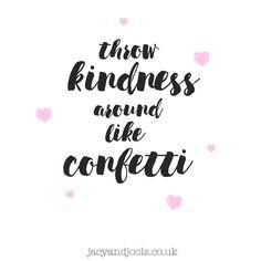 Spread a little kindness today  >>http://ift.tt/1nyu66z<< #Cheshire #jewellery #Altrincham #kindness #confetti #jewellerylove #loveitforlife #stackthemup #sharethelove #follow #socialmedia #lovejacyandjools