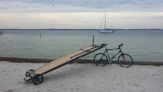 Pedal before you paddle. www.supwheels.com