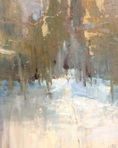 "Winter Trees by Simon Addyman Oil ~ 24"" x 20"""