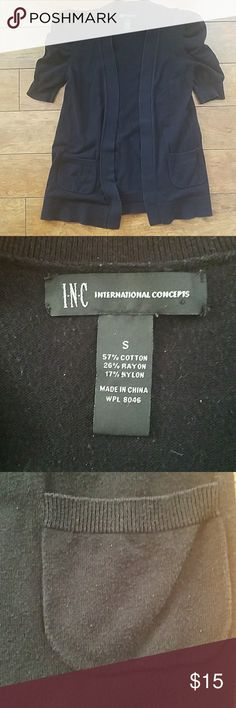 INC cardigan Gently used cardigan I wore a few times INC International Concepts Jackets & Coats