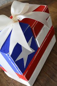 A Diamond in the Stuff: June Make and Take {2x4 Flag}