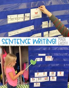 Sentence Writing in Kindergarten can be made easy! Check out how I introduce sentence writing as a literacy center. Then we build on it to make this a year-long literacy activity. With a FREE file 244249979778269999 Writing Center Kindergarten, Kindergarten Language Arts, Homeschool Kindergarten, Preschool Learning, Writing Centers, First Days Of Kindergarten, Prek Literacy, Sentence Writing, Workshop