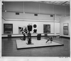 Carnegie International 1958 at Carnegie Museum of Art Pittsburgh: installation view
