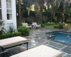 Alternate view of small backyard pool
